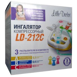 Little Doctor LD-212 C ингалятор компрессорный N1 Little Doctor International Сингапур